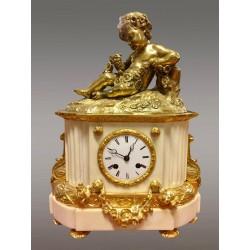 Часы Наполеона III из золотой бронзы