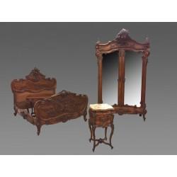 Спальня é Кушетный стиль Людовика XV Рокайль