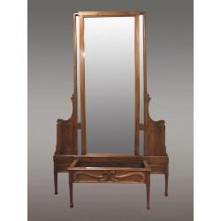 Большое зеркало в стиле модерн