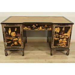 Китайский лаковый стол и пьедестал