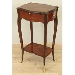 Маленький пьедестал стол в стиле Людовика XV