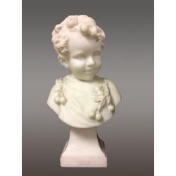Мраморная скульптура Подпись Дель Перуджа