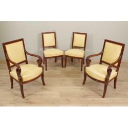 Период реставрации Кресла и стулья