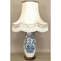 Большая китайская фарфоровая лампа