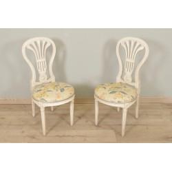 Пара стульев в стиле Людовика XVI