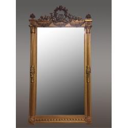 Большое Золотое Зеркало Людовика XVI Стиль
