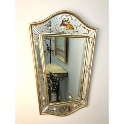 Зеркало с бусинами остекления из агломерированного стекла