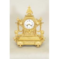 Часы из золотой бронзы Наполеон III