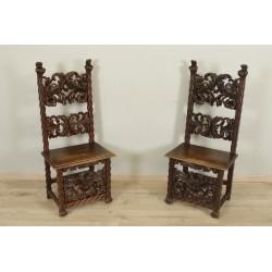 Пара стульев в стиле Ренессанс