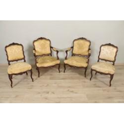 Стулья и кресла в стиле Людовика XV.