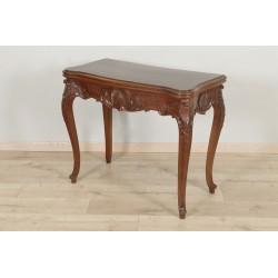 Людовик XV Стиль красного дерева игровой стол 1900 г.