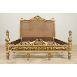 деревянная позолоченная кровать Наполеона II