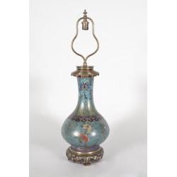 Лампа Gagneau Дальневосточный стиль в перегородчатой форме