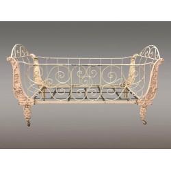 Наполеон III Расписанная чугунная кроватка