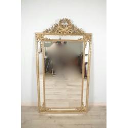 Позолоченное зеркало в стиле Людовика XVI